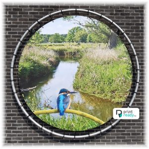 Reclame frame - Rond buizenframe