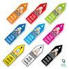 Pijl sticker Online besteld? Volg deze route - kleuren route pijlen sticker